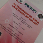 Majlis Tautan Muhibbah DPIM – Makassar dan Majlis Kesyukuran Kumpulan Al Ansar