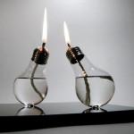 Lampu RAYA kreatif.