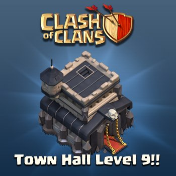 town hall level 9 - target si isteri