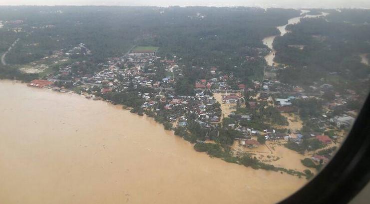 gambar banjir kelantan 2014