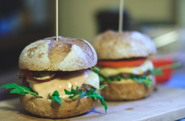 burger mini yang sedap