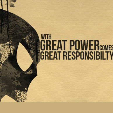 great responsibility